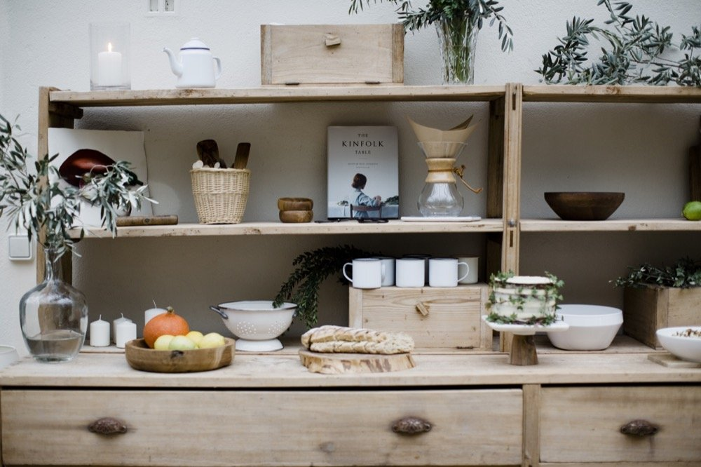 Ambiance Kinfolk : Mes 30 ans 1