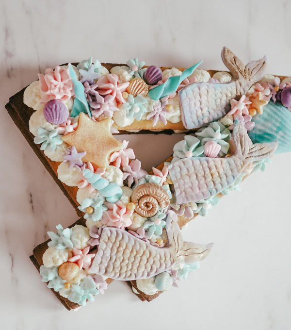 Number Cake Sirène 2
