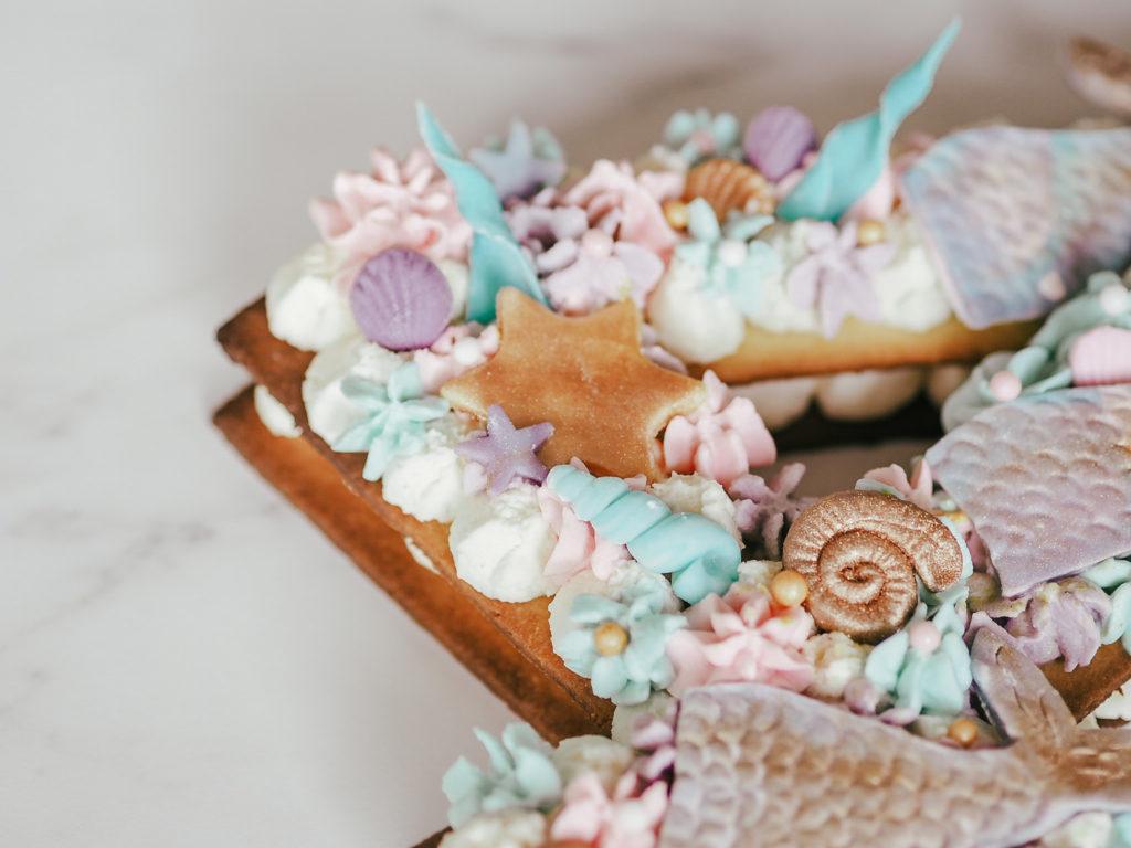 Number cake sirène - clélia lam