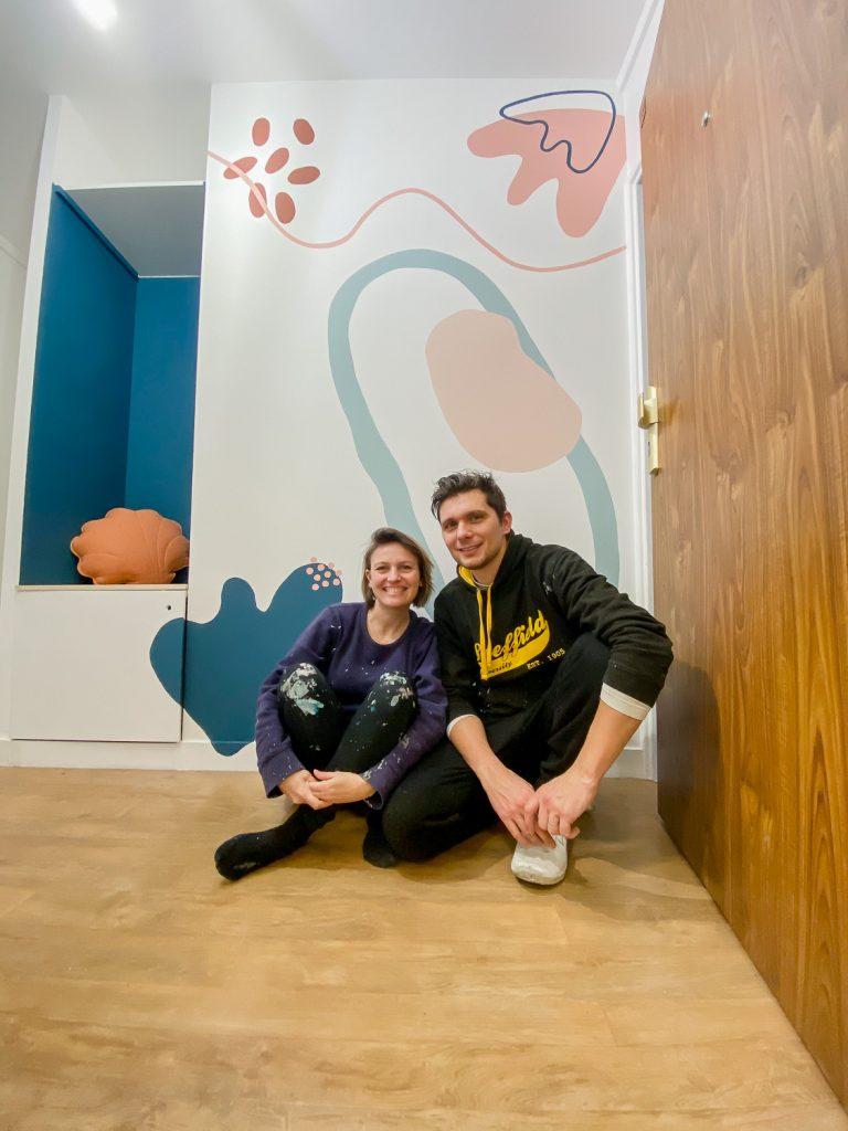 Nouvelle entrée : Notre fresque murale 16